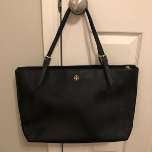 Tory Burch - Black Emerson leather Tote